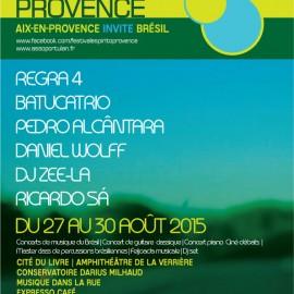VIème Festival Espirito Provence – 2015