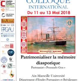 Colloque International – Patrimonialiser la mémoire diasporique