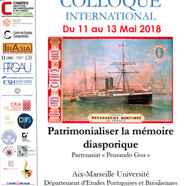 Colloque International – Patrimonialiser la mémoire diasporique