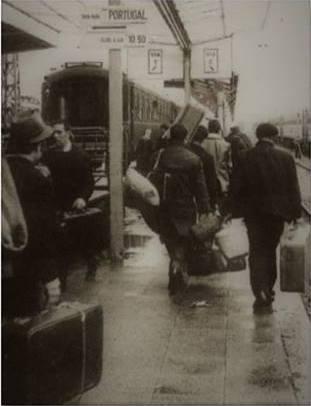 Les immigrés portugais dans le sud de la France
